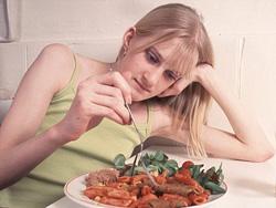 Признаки нарушений пищевого поведения