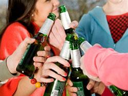 Алкоголь в подростковом возрасте