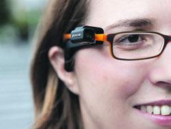 Звуковые очки для слепых