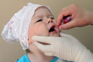 Прививка против полиомиелита