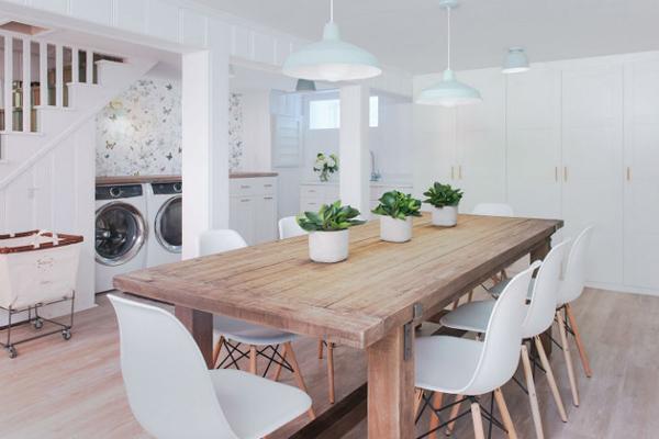 кухня пастельных тонов в интерьере
